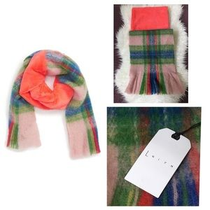 LEITH Faux Fur Collar Scarf